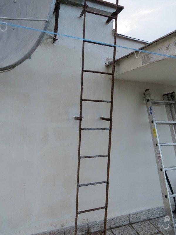 Nátěr kovových prvků na domě: IMG_3474