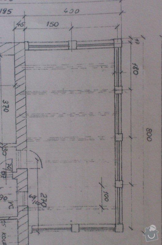 Stavba zimní zahrady na terase: IMG_20140729_085000