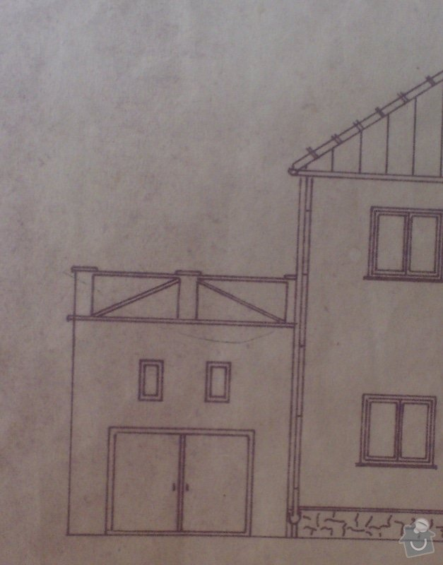 Stavba venkovního schodíště: IMG_20140729_085520
