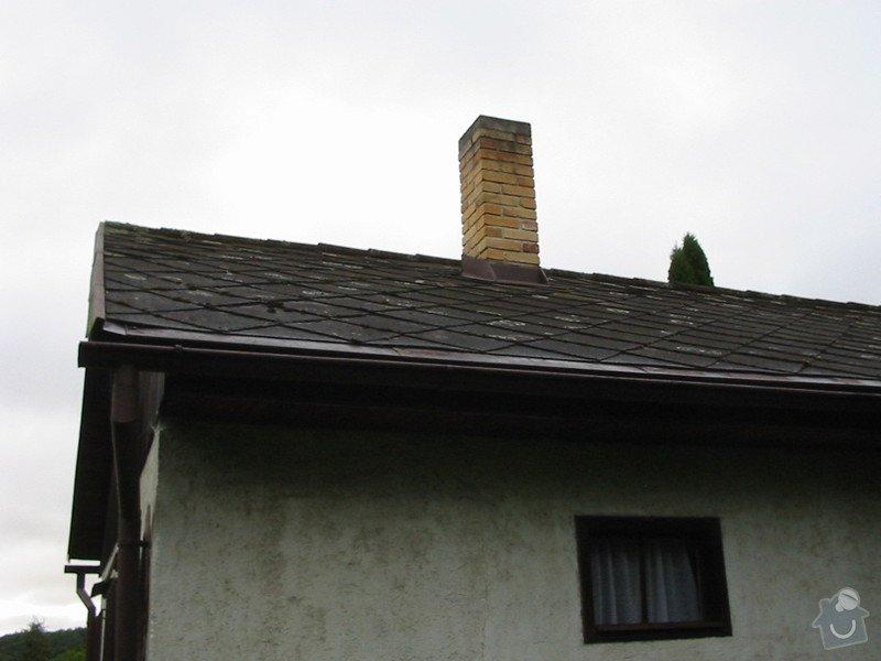 Oprava střechy (výměna eternit za plech): 4