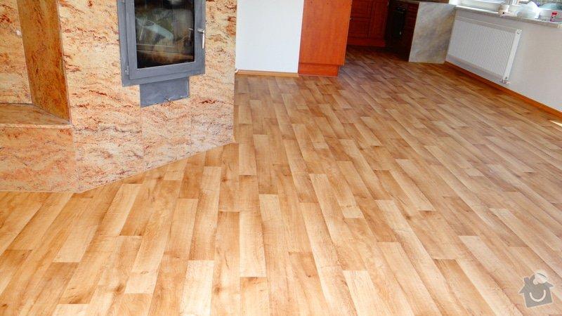 Pokládka vinylové podlahy Tarkett Supreme Plus.: DSC04670