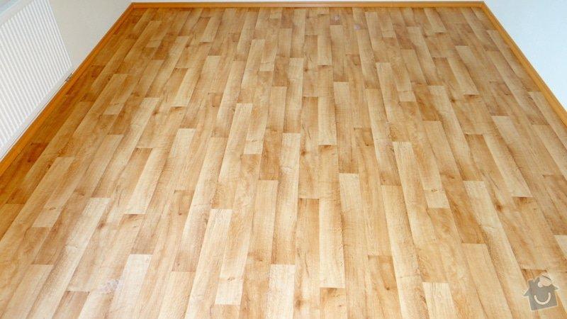 Pokládka vinylové podlahy Tarkett Supreme Plus.: DSC04606