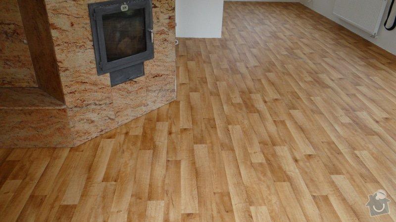 Pokládka vinylové podlahy Tarkett Supreme Plus.: DSC04608