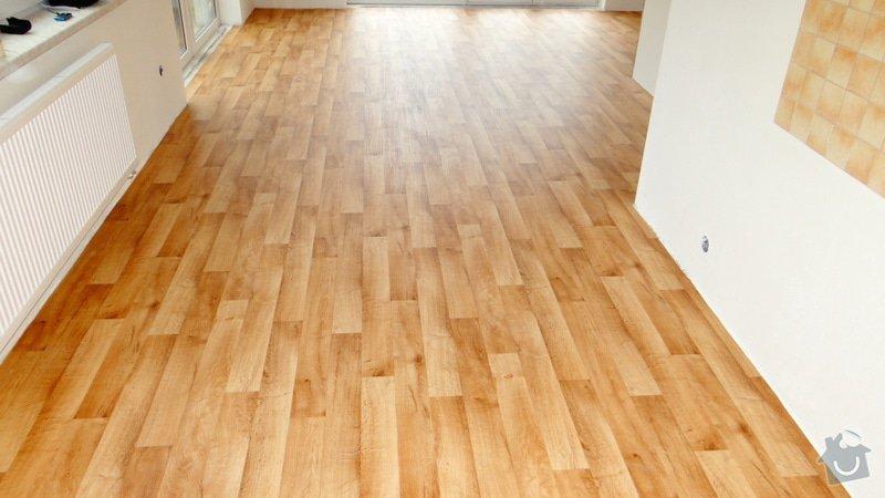 Pokládka vinylové podlahy Tarkett Supreme Plus.: DSC04613