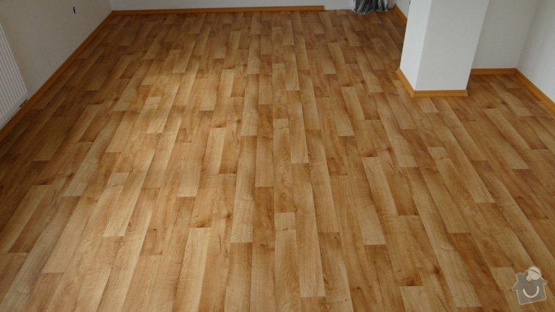 Pokládka vinylové podlahy Tarkett Supreme Plus.: DSC04616