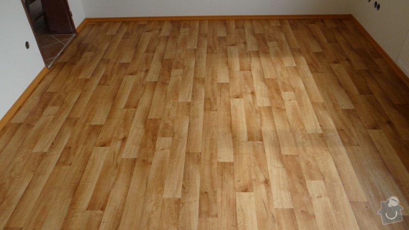 Pokládka vinylové podlahy Tarkett Supreme Plus.: DSC04618