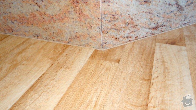 Pokládka vinylové podlahy Tarkett Supreme Plus.: DSC04665