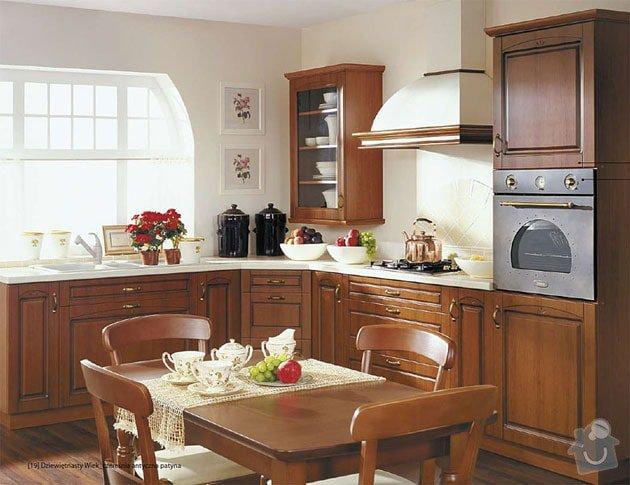 Výroba kuchyně - skříňky, police, pracovní deska: vzhled_kuchyne_drevo