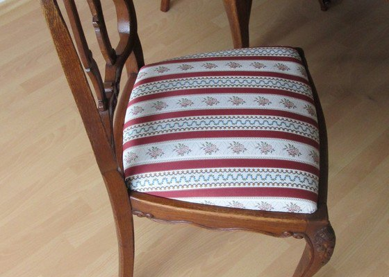 Renovace 6ti židlí