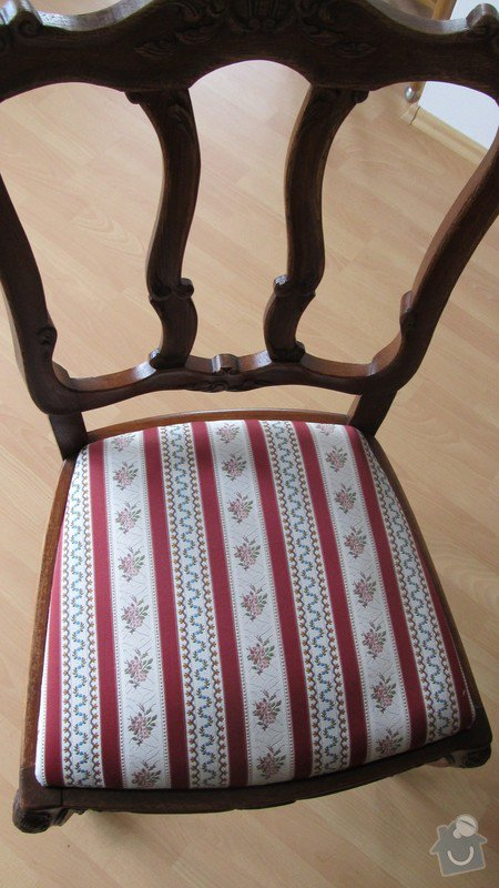 Renovace 6ti židlí: IMG_4167