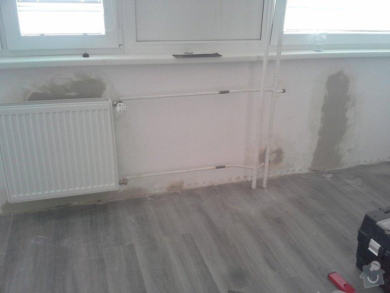 Výměna radiátoru v bytě.: 20140730_125255