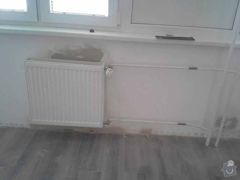 Výměna radiátoru v bytě.: 20140730_125249