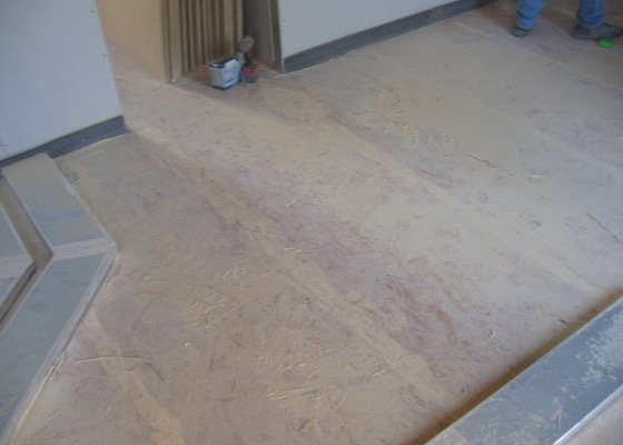 Montáž podlah pasivní dům