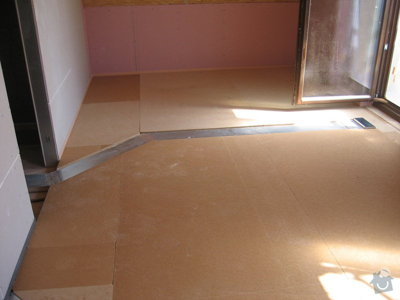 Montáž podlah pasivní dům: IMG_7306