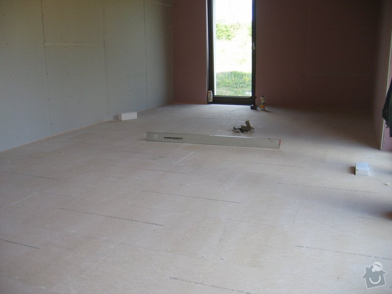 Montáž podlah pasivní dům: IMG_7352