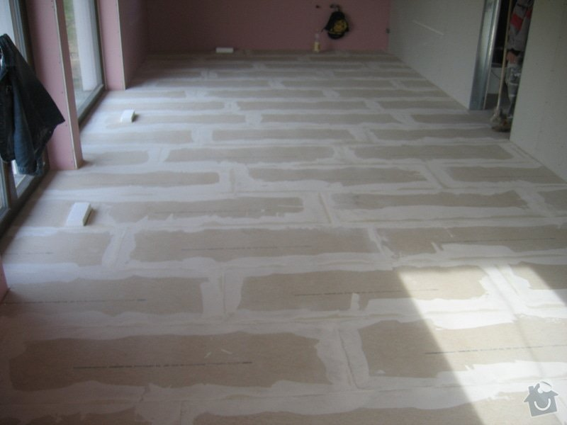 Montáž podlah pasivní dům: IMG_7362