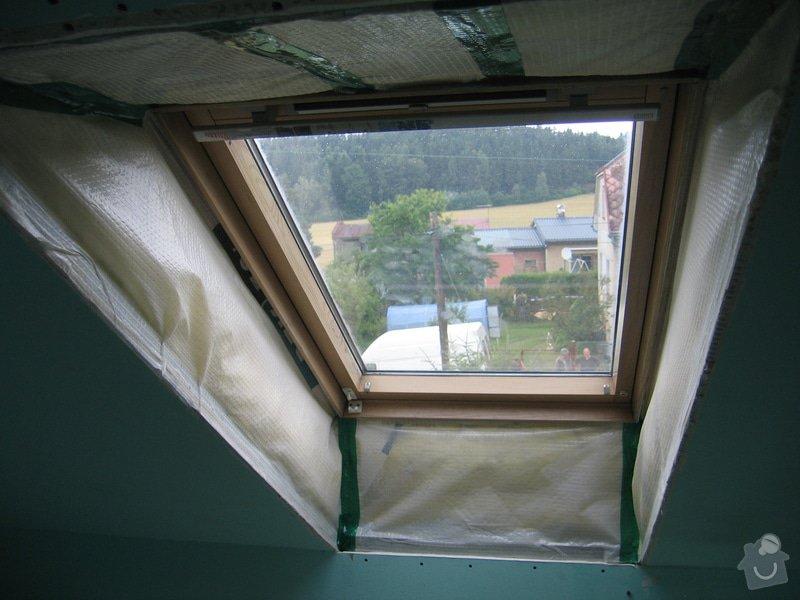 Sádrokartony,zateplení,střešní okna: IMG_7505