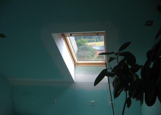 Sádrokartony,zateplení,střešní okna