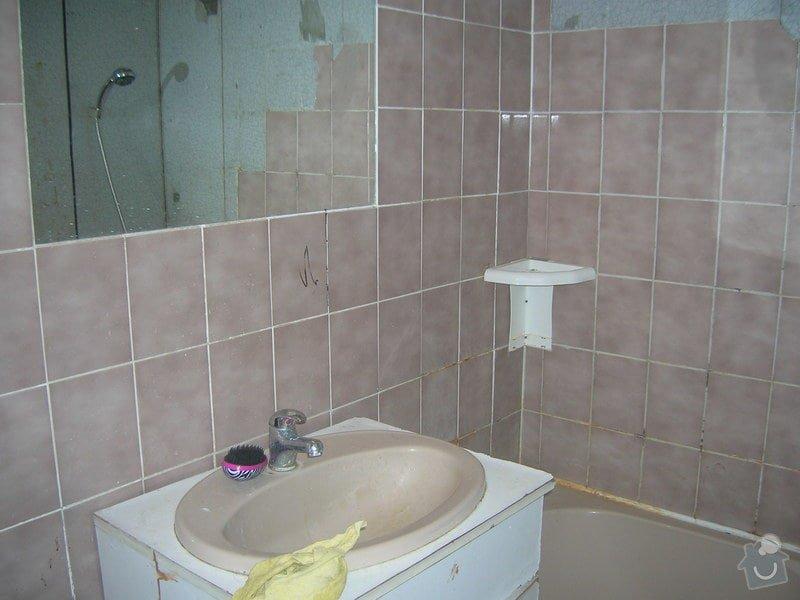 Rekonstrukce koupelny Hrádek u Rokycan: DSCN7010
