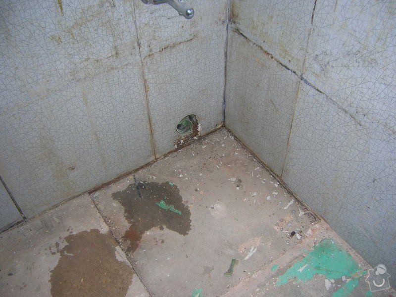 Rekonstrukce koupelny Hrádek u Rokycan: DSCN7013