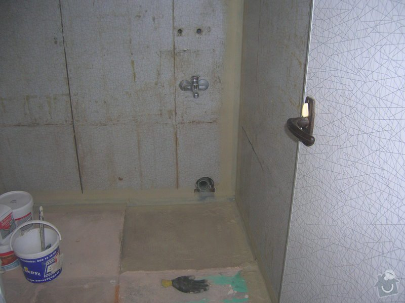Rekonstrukce koupelny Hrádek u Rokycan: DSCN7017
