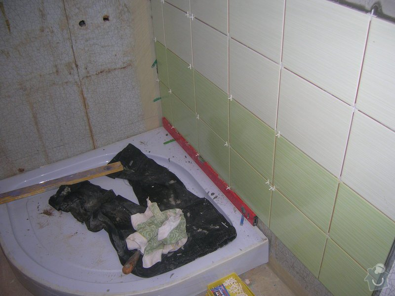 Rekonstrukce koupelny Hrádek u Rokycan: DSCN7019