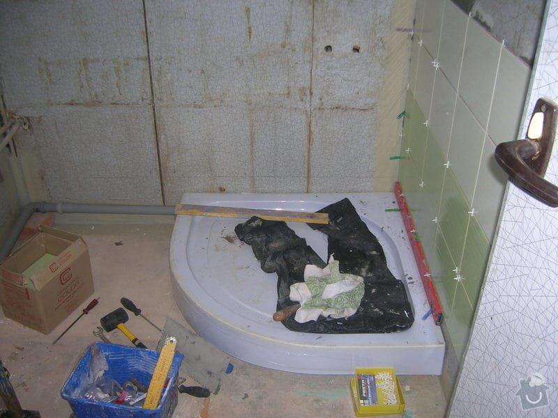 Rekonstrukce koupelny Hrádek u Rokycan: DSCN7020