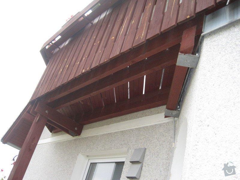 Nátěr podstřešní dřevěné konstrukce: IMG_0716