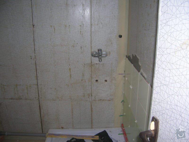 Rekonstrukce koupelny Hrádek u Rokycan: DSCN7021