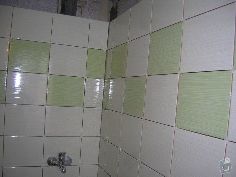 Rekonstrukce koupelny Hrádek u Rokycan: DSCN7023