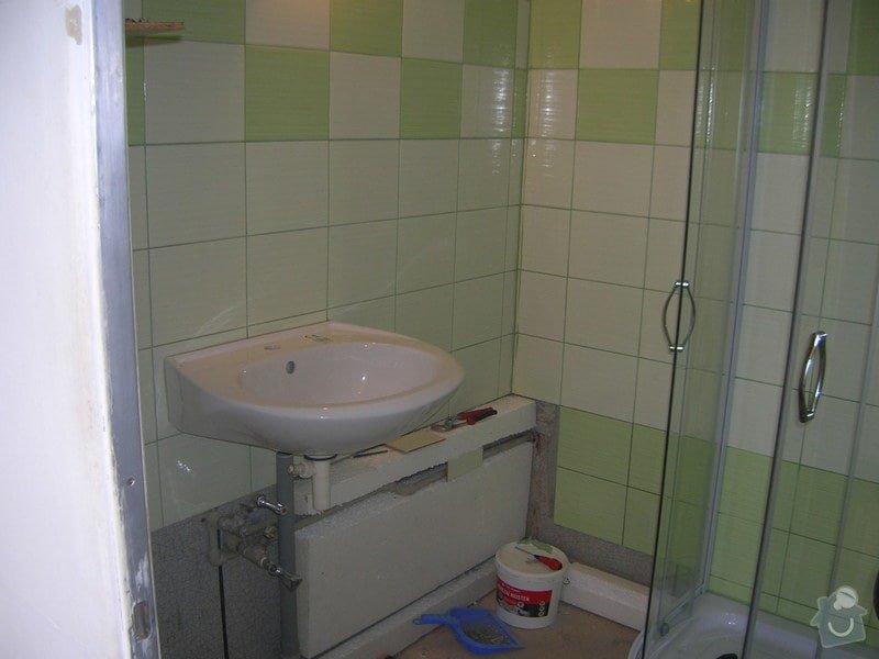 Rekonstrukce koupelny Hrádek u Rokycan: DSCN7025
