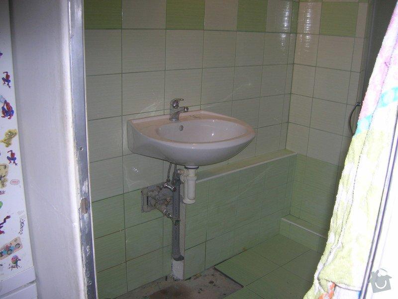 Rekonstrukce koupelny Hrádek u Rokycan: DSCN7028