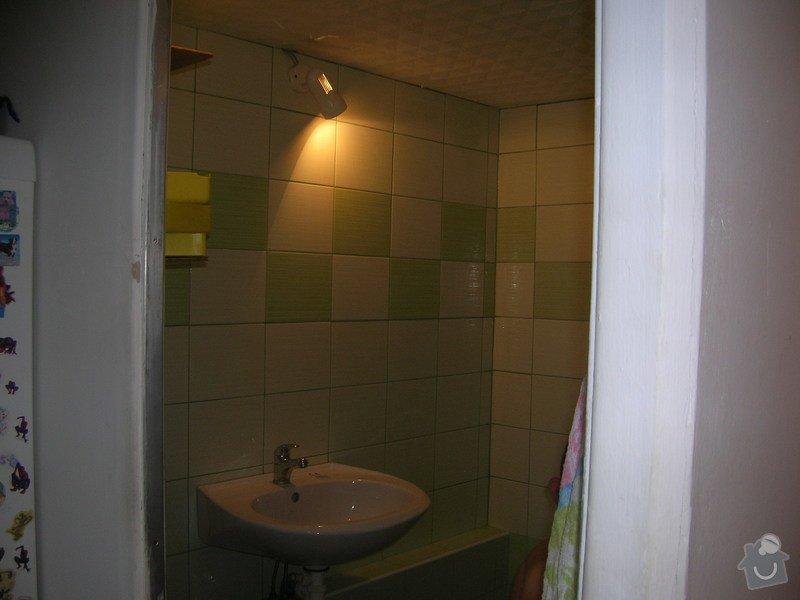 Rekonstrukce koupelny Hrádek u Rokycan: DSCN7029