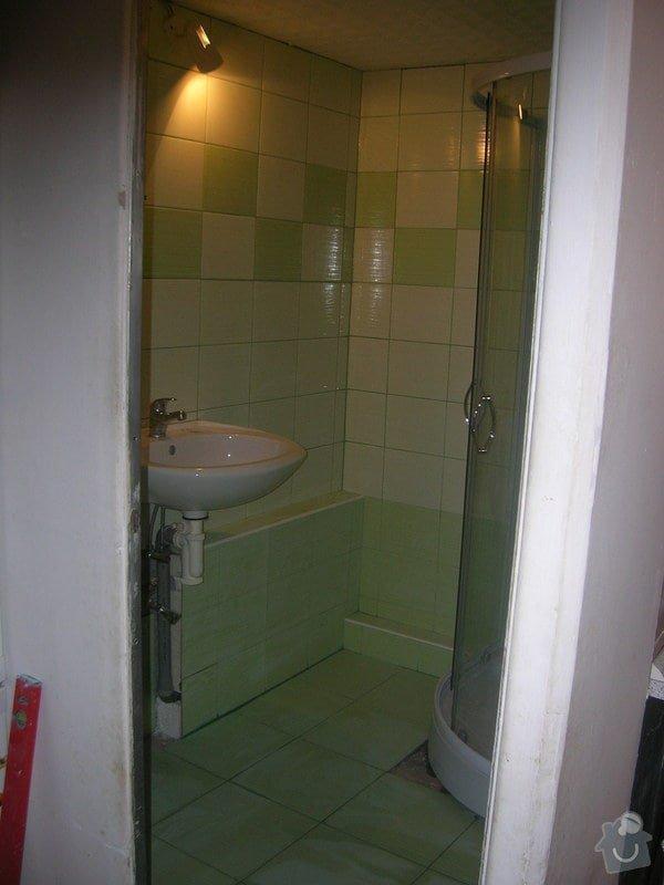 Rekonstrukce koupelny Hrádek u Rokycan: DSCN7030