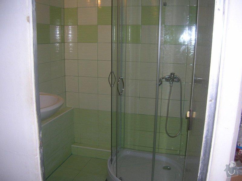 Rekonstrukce koupelny Hrádek u Rokycan: DSCN7033
