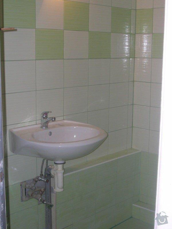 Rekonstrukce koupelny Hrádek u Rokycan: DSCN7034