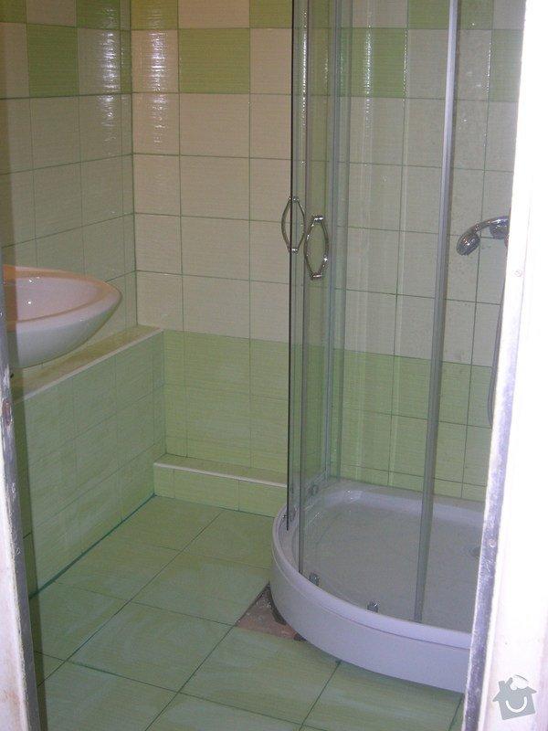 Rekonstrukce koupelny Hrádek u Rokycan: DSCN7035