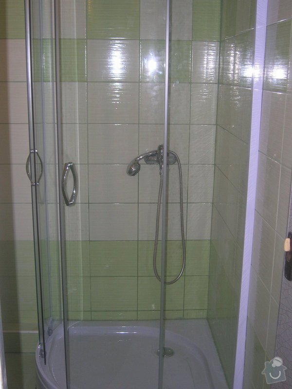 Rekonstrukce koupelny Hrádek u Rokycan: DSCN7036