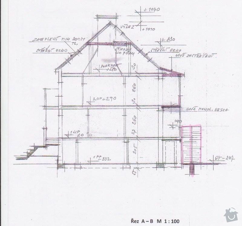 Rekonstrukce střechy: dum_-_bokorys