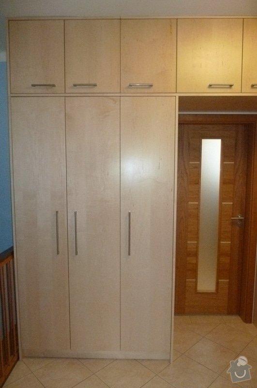 Výroba vestavěné šatní skříně a dveří: P1180994m