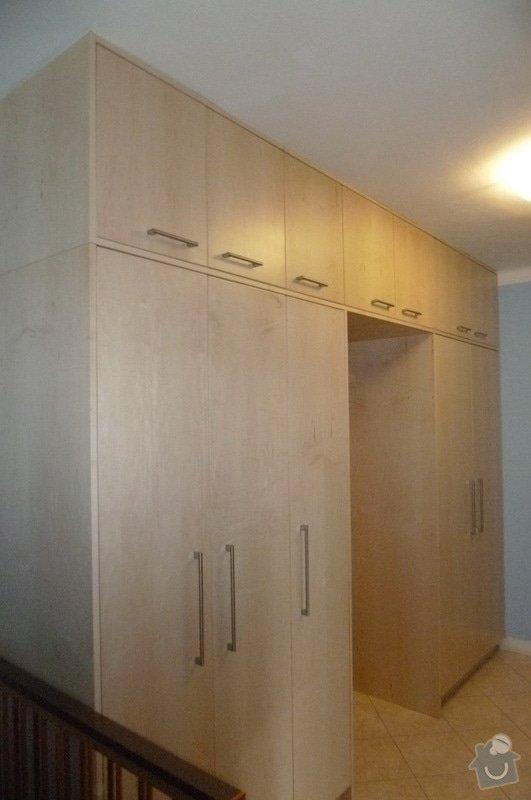 Výroba vestavěné šatní skříně a dveří: P1180996m