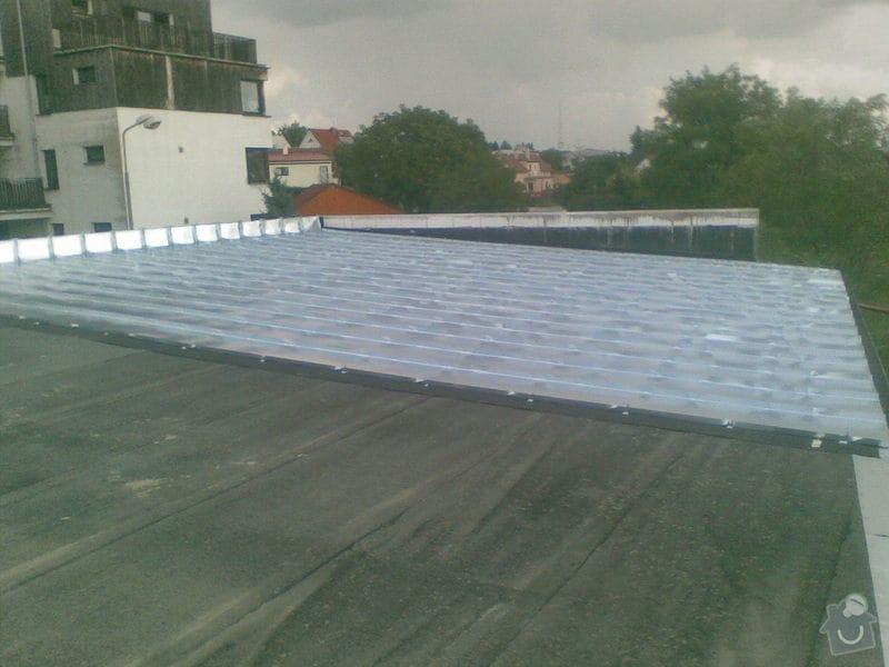 Falcovaná střecha RD: 157
