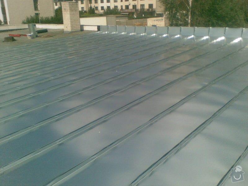 Falcovaná střecha RD: 156
