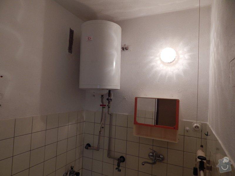 Rekonstrukce koupelny a záchodu: pred1