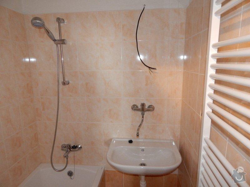 Rekonstrukce koupelny a záchodu: po