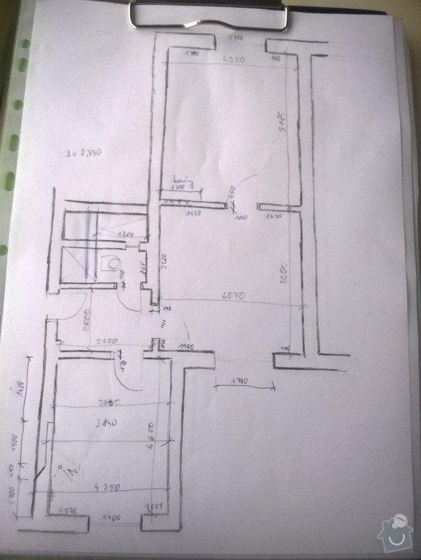 Kompletní rekonstrukce bytu 2+1 Brno: WP_20140728_005