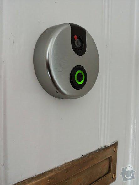 Montáž - dveřní digitální kukátko s Wifi pro android: 20140801_120958