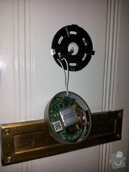 Montáž - dveřní digitální kukátko s Wifi pro android: 20140801_121226