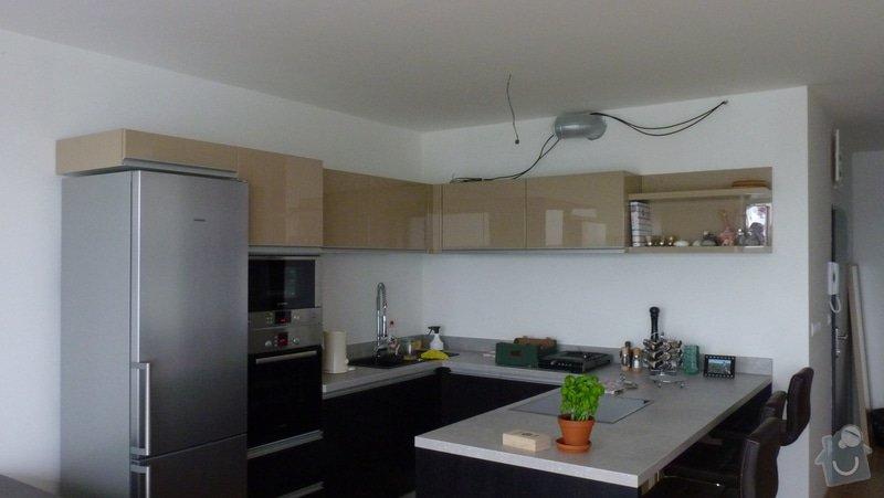 Sadrokartonový podhled - kuchyně: P1090728