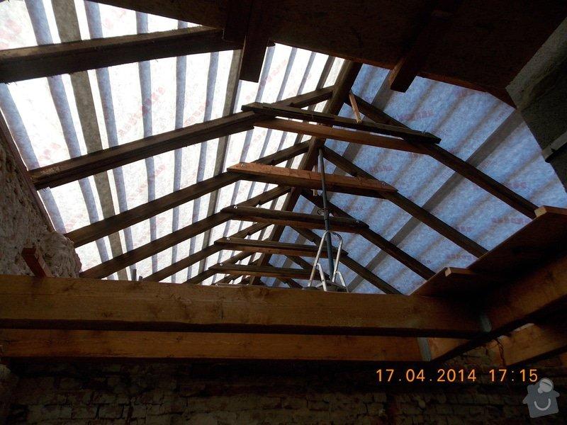 Střecha: DSCN0378